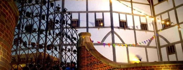 Shakespeare's Globe Theatre is one of My London.