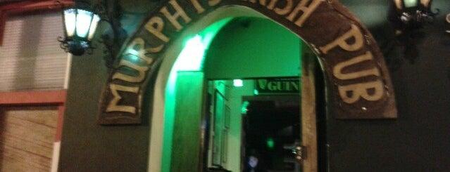 Murphy's Irish Pub is one of Discotecas y Bares De Lima.