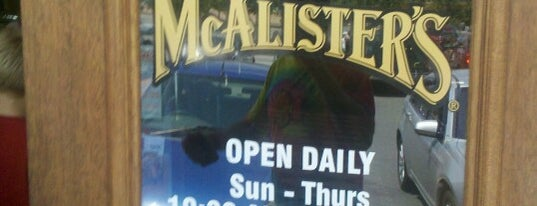 McAlister's Deli is one of Food joints.