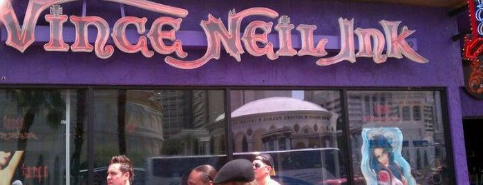 Vince Neil Ink is one of Las vegas.