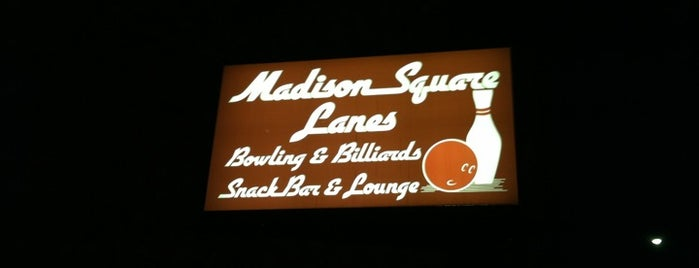 Madison-Square Lanes is one of Exploring Lakewood.