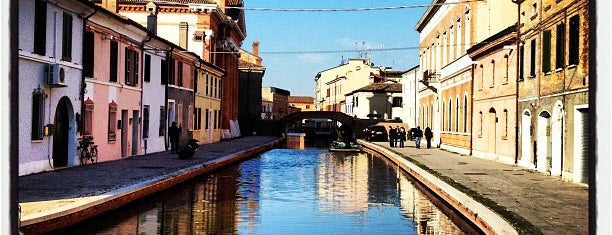 Comacchio is one of Riviera Adriatica.