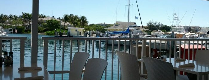 The Nauti Dawg Marina Cafe is one of Places to try.