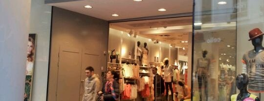 H&M is one of Brussels.
