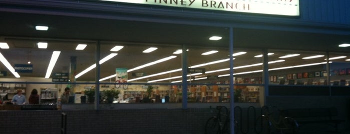 Madison Public Library - Pinney Branch is one of My Faves.