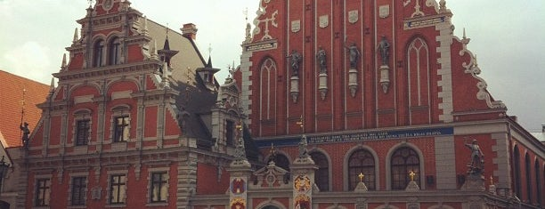 House of Blackheads is one of Unveil Riga : Atklāj Rīgu : Открой Ригу.
