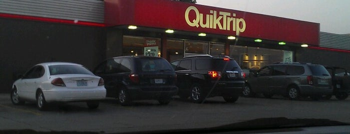 QuikTrip is one of frequently visited.
