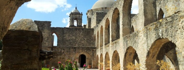 Mission San José & Visitor Center is one of National Parks.