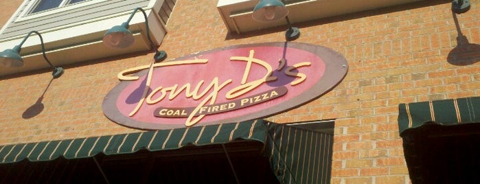 Tony D's Coal Fired Pizza is one of favorite Rochester restaurants.
