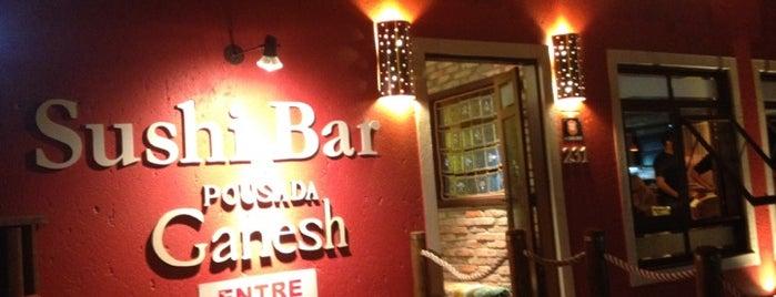 Ganesh Sushi Bar is one of Sushi Work Place.