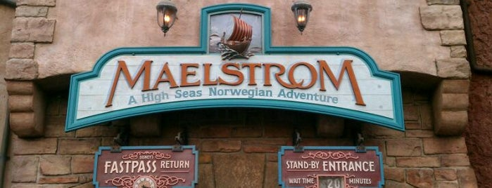 Maelstrom is one of Disney World!.