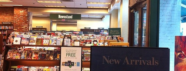 Barnes & Noble is one of Places to check -in to.