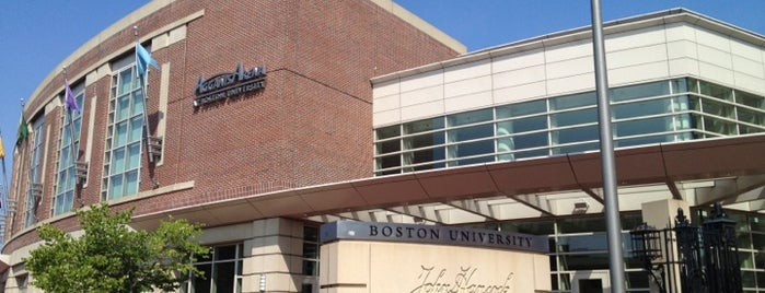 Boston University Fitness & Recreation Center is one of Chi Phi campus spots.