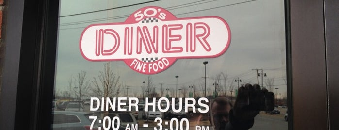 50's Diner is one of ** my list **.