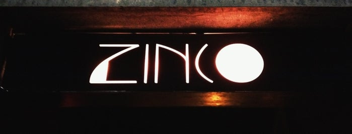 Zinco Jazz Club is one of Aztlán.