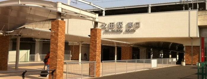 Ōta Station (TI18) is one of 東武伊勢崎線.