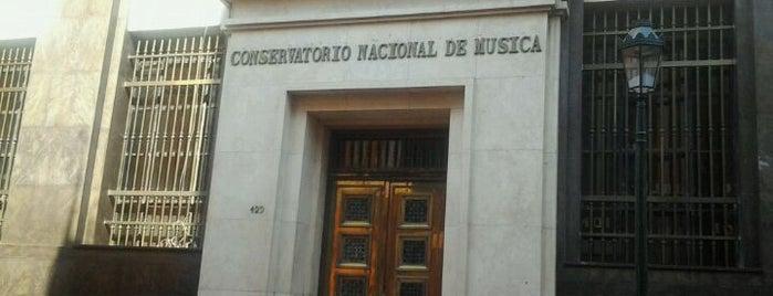 Conservatorio Nacional de Música is one of ii.