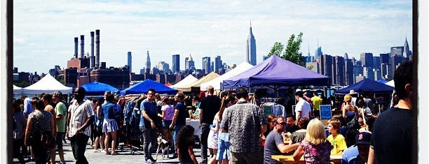 Brooklyn Flea - Williamsburg is one of Free/dirt cheap NYC places to take out-of-towners.