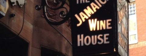 The Jamaica Wine House is one of London Pint.
