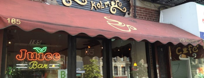 Cafe Kolmaro is one of Manhattan's Best Coffee by Subway Stop.