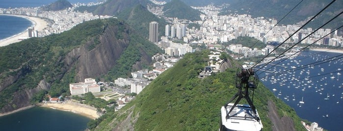 Sugarloaf Mountain is one of Rio.