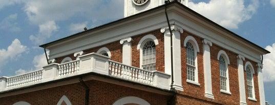 Market House is one of North Carolina.