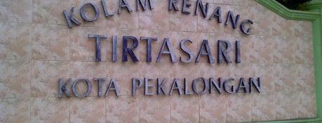 Kolam Renang Tirta Sari is one of Pekalongan World of Batik.