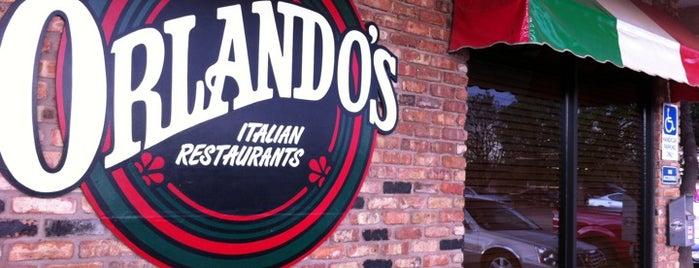 Orlando's Italian Restaurant is one of Favorites.