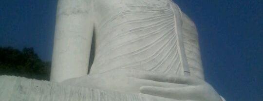 Bahirawakanda Buddha statue is one of Trips / Sri Lanka.