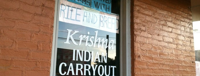 Krishna is one of Campus Eats.