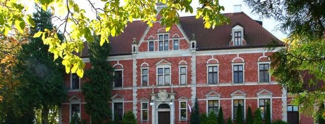 Pałac w Leźnie is one of Noclegi i SPA #4sqcities.