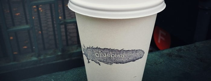 Bluebird Coffee Shop is one of Best Coffee in NYC.
