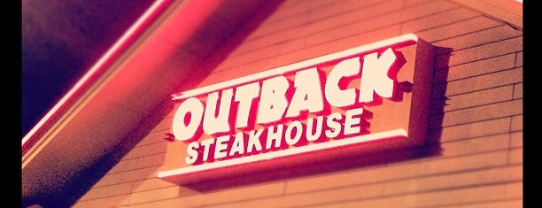 Outback Steakhouse is one of tops.