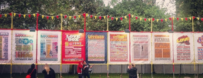 Lovebox Festival is one of LDN.