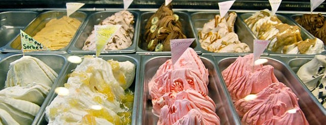 Morelli's Gourmet Ice Cream is one of Summer in Georgia.