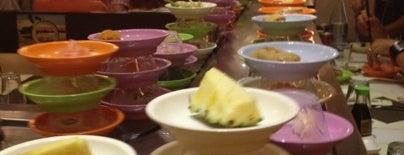 Miyako Kaiten Sushi is one of 20 favorite restaurants.