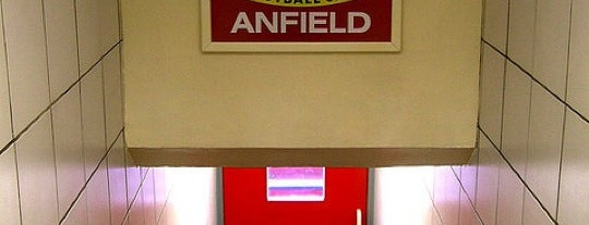 Anfield is one of My Stadium Tour.