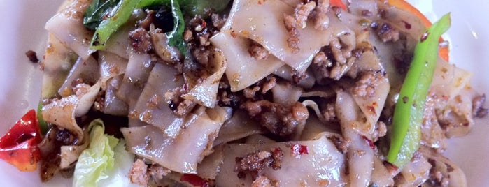 Thai Diamond Bar B Q is one of Pad Kee Mao in the IE - Who Does It Best.