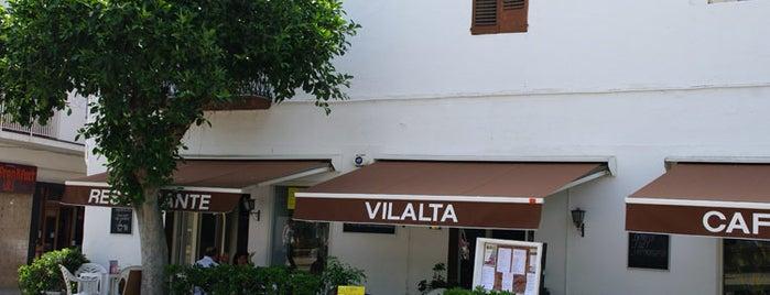Bar Restaurant Vilalta is one of BOOM Sitges.