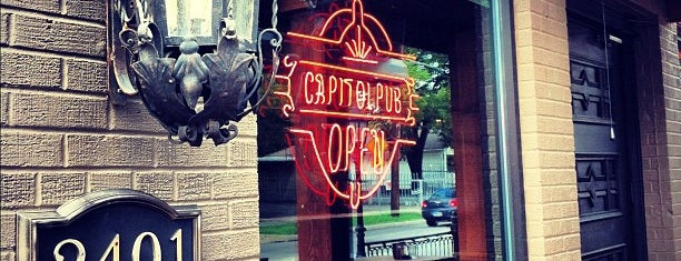 Capitol Pub is one of Places to Eat.