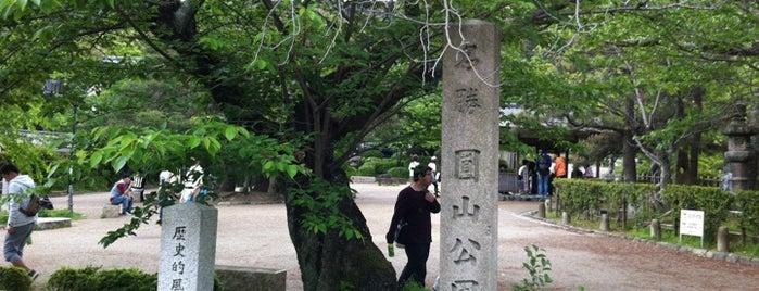 Maruyama Park is one of 日本の都市公園100選.