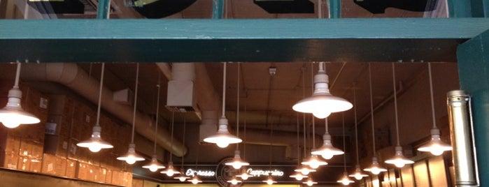 Starbucks is one of Alyssa's Seattle visit.