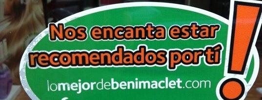 La Coqueta is one of lomejordebenimaclet.com.
