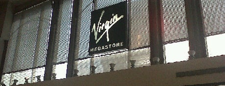 Virgin Megastore is one of Libraries and Bookshops.