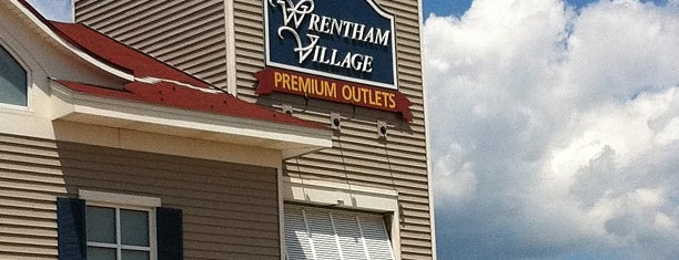 Wrentham Village Premium Outlets is one of just a list of places.