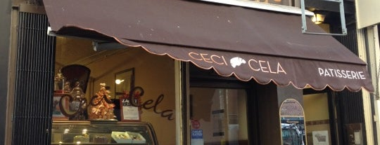 Ceci-Cela is one of bakeries.