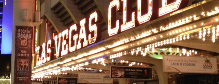 Las Vegas Club Hotel & Casino is one of Vegas.