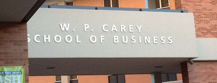 W. P. Carey School of Business is one of the rose.
