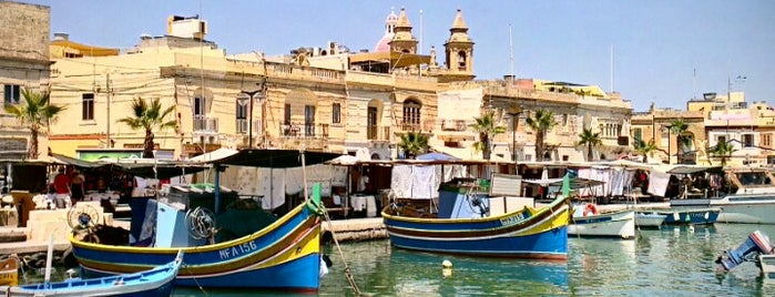 Marsaxlokk is one of Malta Cultural Spots.