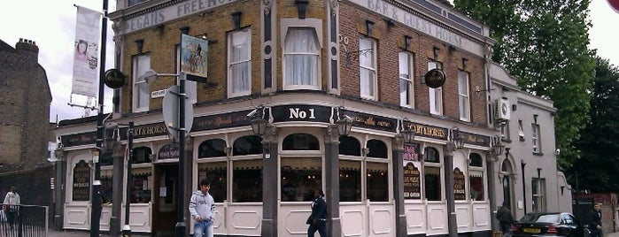 The Cart and Horses is one of London Pubs - Ambrosia.
